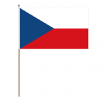 Czech Republic Country Hand Flag - Large.